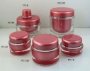 Round Acrylic cream jars PC