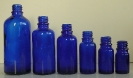 Сини стъклени шишенца (флакони)_1