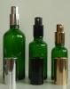 Зелени шишенца със спрей помпи