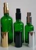 Зелени шишенца с лосионна помпа
