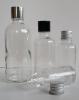 Прозрачни шишенца / флакони с капачки
