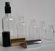 Прозрачни стъклени шишенца (флакони)
