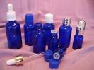 Флакони за етерични масла, синя серия