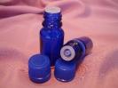 Стъклени шишенца за етерични масла с капачка